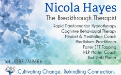 Rapid Transformational Hypnotherapy Hypnosis Waterford
