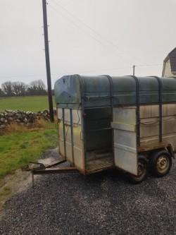 Jim Murphy cattle trailer 8ftx5ft