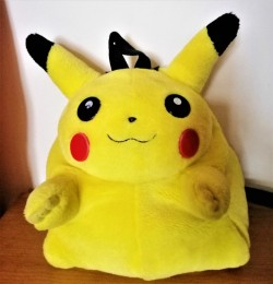 PikachuPlush Backpack
