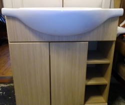 Brand new Bathroom vanity unit and basin retail