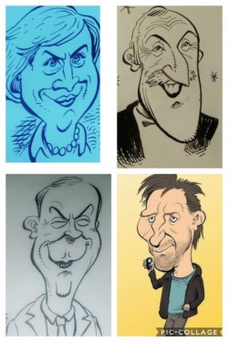 Caricaturist for weddings, parties, all occasions!