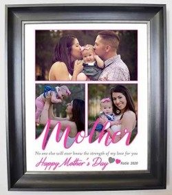 Mother We Love You Framed Photo Collage - Domore