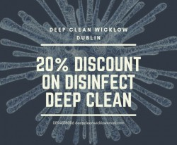 Deep clean Wicklow Dublin