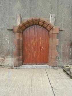 Sandstone Door Arch