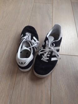 Adidas Black Trainers.