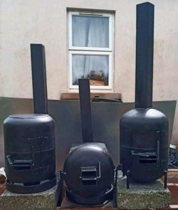 Handmade Gas bottle Stove / Patio Heater