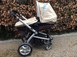 Pram or pushchair or buggy