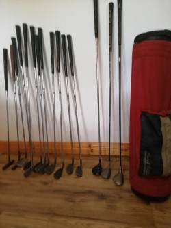 Set of Golf Clubs and Irons