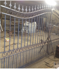 Galvanised Entrance Gates
