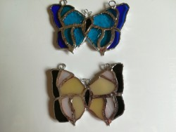 Homemade Stained Glass decorations