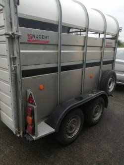 Nugent cattle trailer 8x5