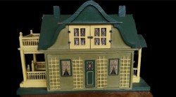 Gottschalk Antique Gabled Dollhouse - Rare