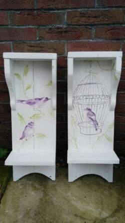 Handmade Decorated Sconces