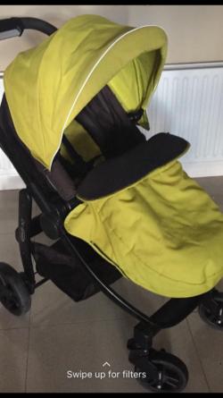 Graco Evo Pram/stroller-car seat travel system
