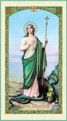 Devotion to St. Martha