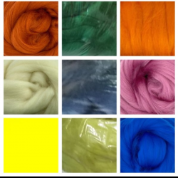 Merino felting wool - 100g for €3