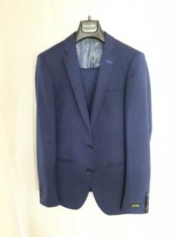 Remus Uomo Navy Blue Three Piece Suit