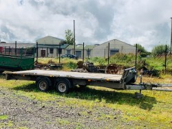 Ifor Williams Flatbed Trailer.