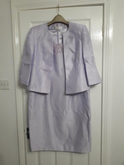 Dress and Jacket. Lilac. Jacques Vert.
