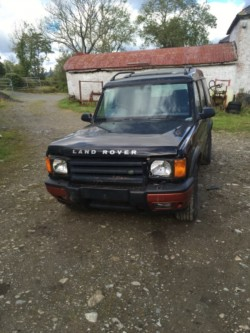 Breaking Land Rover discovery 2