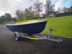 Boat and trailer for sale.