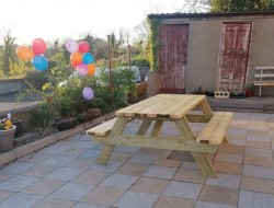 Heavy Duty Wooden Picnic Tables