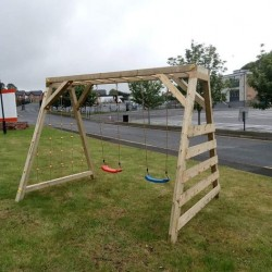 Kids Swing set Wooden Frames