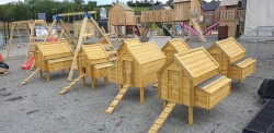 Wooden Hen Arks