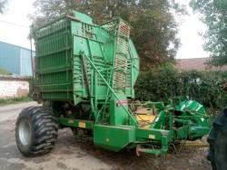 harvester topper beet loader