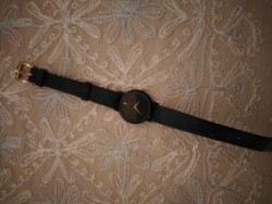 Rare Ladies Black Face Seiko Wristwatch
