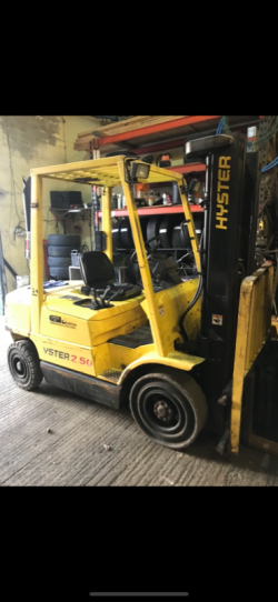 All makes and models of forklifts bought