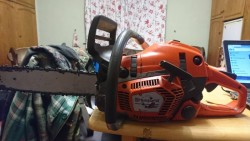 Two Husqvarna Saws For Sale.
