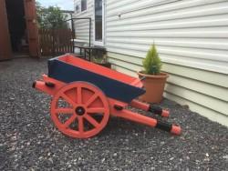 Garden donkey cart