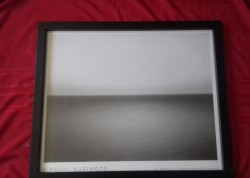 Seascape framed picture by Japanese artist Hiroshi Sugimato.