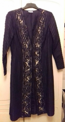 Vintage Aruba evening coat