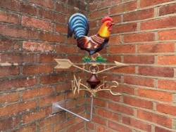 Rooster Weather Vane (Wall Mount)