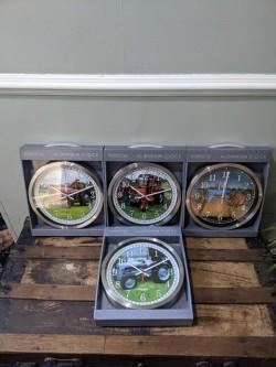 Vintage Tractor Clocks