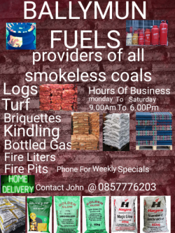 COAL,LOGS,TURF,BRIQUETTES AND MORE