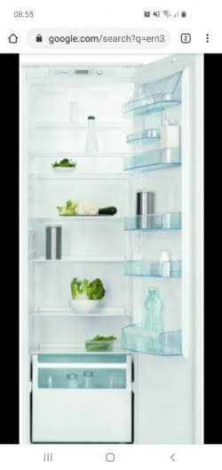 INTEGRATED ELECTROLUX LARDER FRIDGE