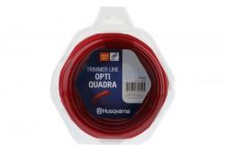 Husqvarna Opti Quadra 3.0mm 48M Red Trimr wire
