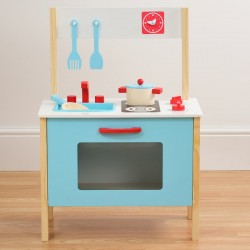 Play & Pretend My First Wooden Kitchen 5pc NEW!!