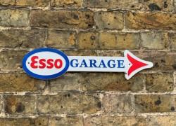 Esso Sign - Cast Iron