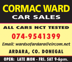 Cormac Ward Car Sales