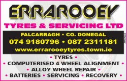 Errarooey Tyres & Servicing Ltd