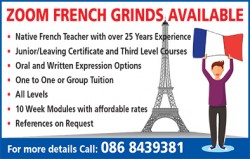 ZOOM FRENCH GRINDS AVAILABLE