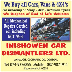 Inishowen Car Dismantlers Ltd.