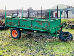 Frazer Steel Tipping Trailer.