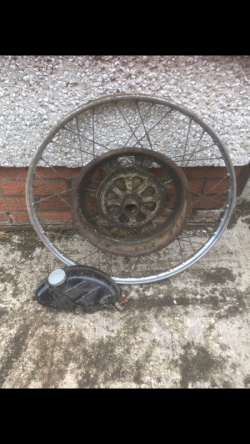 Vintage Cycle master wheel