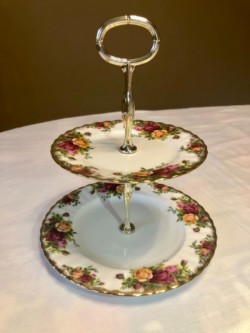 Royal Albert, Old Country Roses, Cake Stand