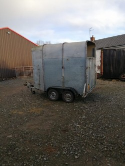 Ifor Williams Double Horse Box.